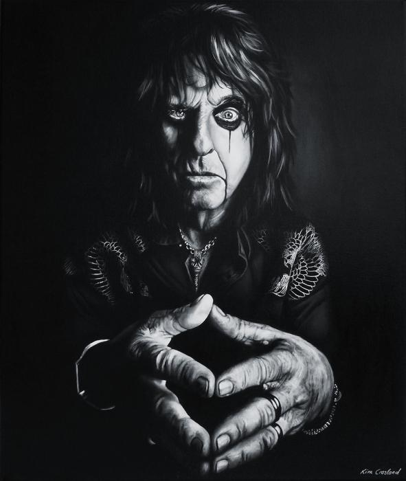 Alice Cooper by chaosart